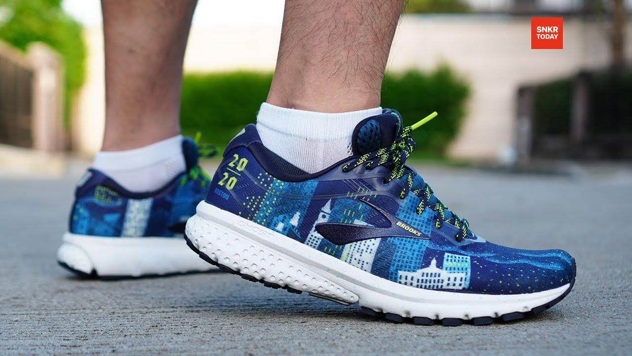"""รีวิว รองเท้าวิ่งรุ่นพิเศษ Brooks Ghost 12 """"Run Boston Edition"""" นุ่มสบาย เหมาะสำหรับ Long run"""