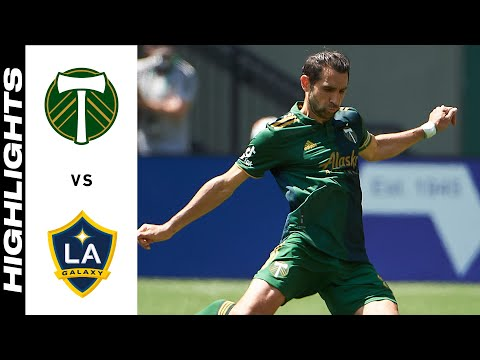 Portland Timbers Los Angeles Galaxy Goals And Highlights