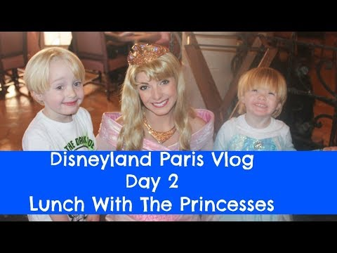 Disneyland Paris Trip - Day 2 - November 2017 - Lunch With The Princesses