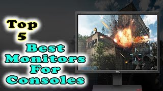 Best Monitors For Consoles in 2018