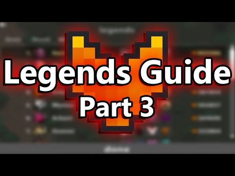 ROTMG - Legends Guide - Part #3 Stats And Equipment