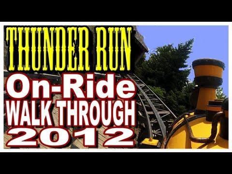 Thunder Run  OnRide POV  Front Seat 2012