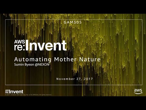 AWS re:Invent 2017: Automating Mother Nature: How Nexon Used AWS Services to Algorit (GAM305)