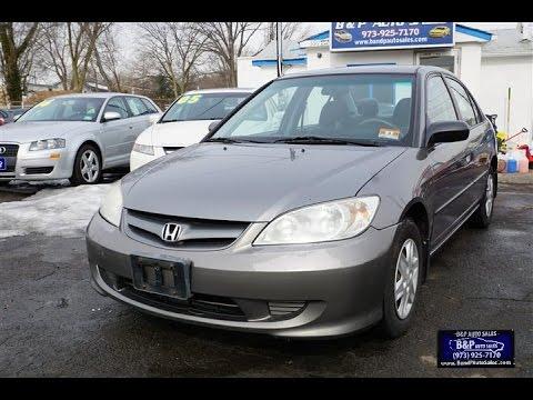 2005 honda civic vp sedan youtube for Honda civic vp