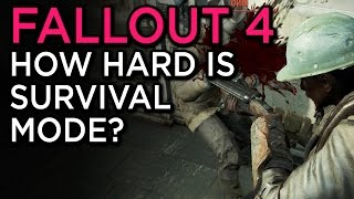 How Hard is Survival Mode? - Fallout 4