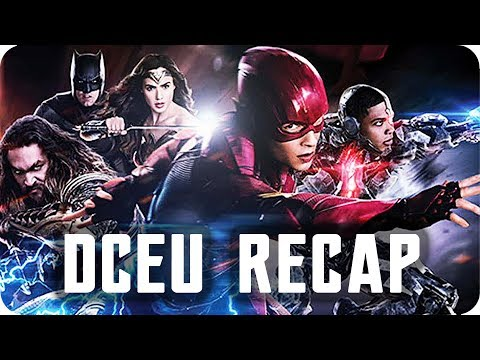 DC EXTENDED UNIVERSE RECAP | All you need to know before you watch JUSTICE LEAGUE!