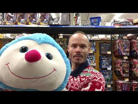 Walmart Super Sized Inch Worm Stuffed Animal