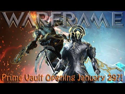 Warframe - Prime Vault Opening January 29?! thumbnail