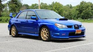 видео Subaru WRX STI, 2006