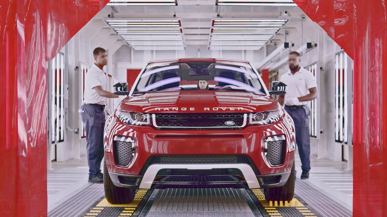 Car Factory 2017 Range Rover Evoque Production In Brazil