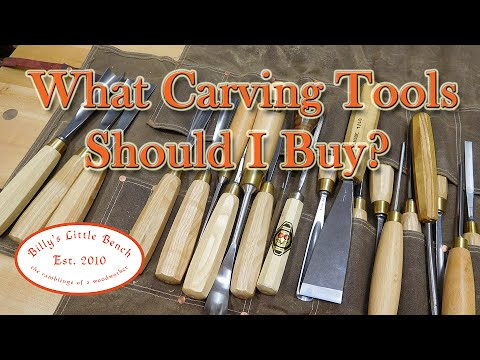 What Carving Tools Should I Buy?
