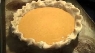 Aunt Duddie Makes Pumpkin Pie
