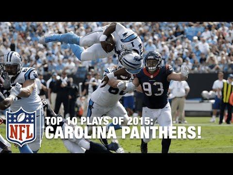 Top 10 Carolina Panthers Plays of 2015 | NFL