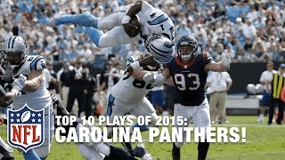 Top 10 Carolina Panthers Plays of 2015 | NFL