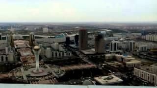 Астана. На крыше ЖК