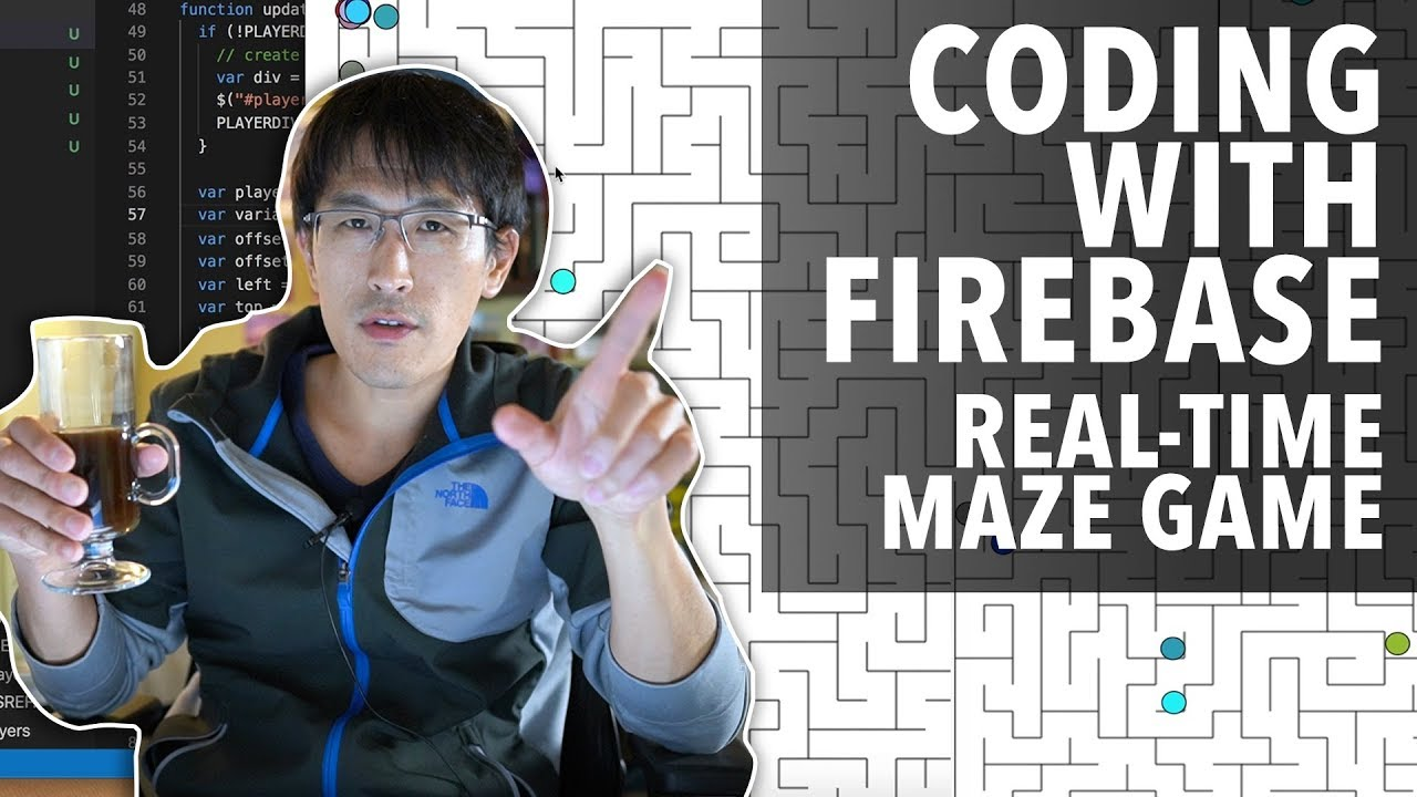 Coding with Firebase (real-time maze game)