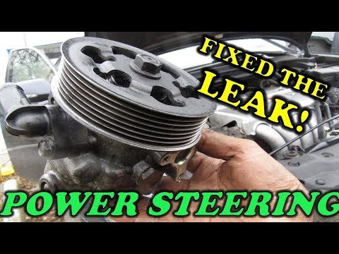 Power Steering Hose and Pump Replacement