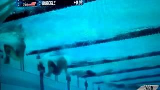ロンドンオリンピック 競泳 200メートル平泳ぎ予選 立石諒