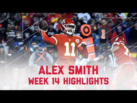 Alex Smith Picks Apart Raiders Defense! |  NFL Week 14 Player Highlights