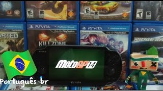 PS Vita: Moto GP 14 Gameplay (Português/BR)