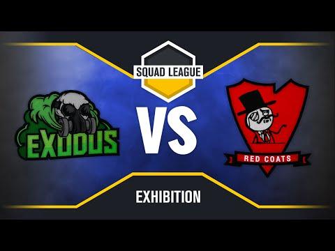 Squad League - Exodus V Redcoats -- Match 1 --