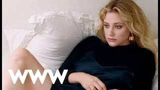 Riverdales Lili Reinhart Behind the Scenes of Our October Cover   Who What Wear
