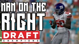 Stay Yo Ass In The Pocket | Man On The Right Draft Champs Strategy Game 3 | Madden 16