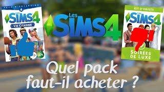 Quel pack Sims 4 acheter ? (Juillet 2017)