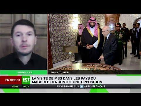 Visite controversée pour ben Salmane en Tunisie