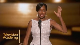 Emmys 2015 | Regina King Wins Outstanding Supporting Actress In A Limited Series Or A Movie