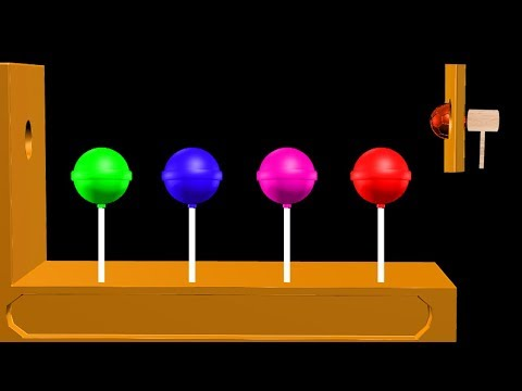 Soccer Ball Colors Learn With Lollipop For Children    Lollipop Colors    Video For Kids thumbnail