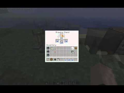 how to create a potion of poison in minecraft