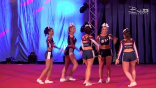 Southampton Vixens All Girl Level 3 Stunt Group - ICC Nationals - 1st Place