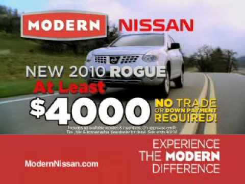 Modern Nissan Of Lake Norman   Bottom Line Sales Event   July 2010
