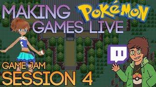 Making Pokemon Games Live (Game Jam Session 4)