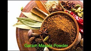GARAM MASALA (home made) *COOK WITH FAIZA*