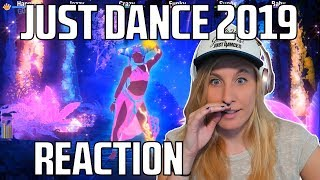 JUST DANCE 2019 TRAILERS REACTION! (Turkish song, and No Lie!)