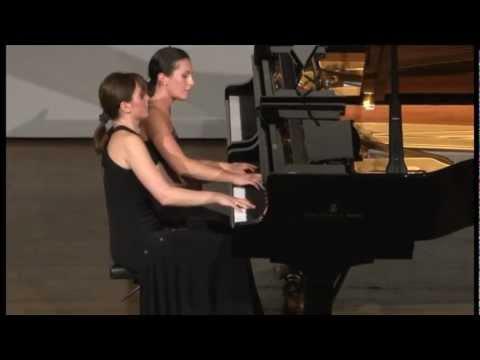 Brahms Hungarian Dances N.1,4,6 Natia and Tamar Beraia