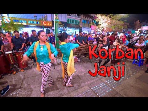 KORBAN JANJI Cover Angklung Carehal Bikin Lagu Tambah Asik (Angklung Malioboro) Guyon Waton