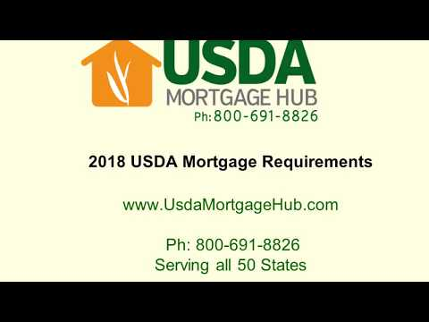2018 USDA Mortgage Requirements