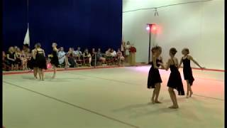 Burlo Gymnastics, Sumemr Show 2017, Young and Beautiful, Level 7-10