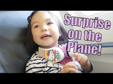 SURPRISE ON THE PLANE! - October 30, 2015 -  ItsJudysLife Vlogs