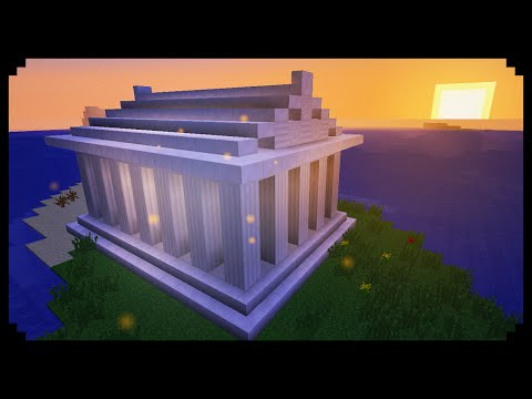 ✔ Minecraft: How to make a Greek temple