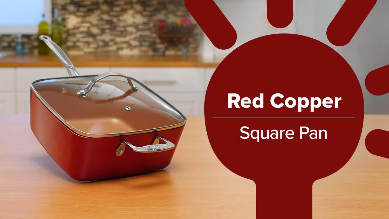 You Can Fry Bake Steam Any Meal With The Non Stick Red