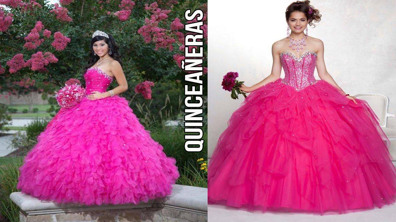 Vestidos Para Fiesta de 15 años - Quinceañeras XV - YouTube