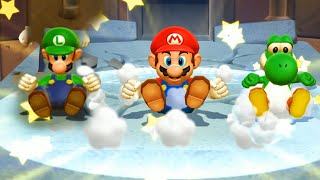 Mario Party 9 Boss Rush - Toad vs Mario vs Luigi vs Yoshi| CartoonsMee