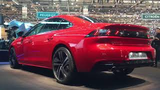 2018 Peugeot 508 world premiere walkaround at Geneva Motor Show 2018