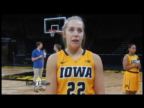 Iowa Women's Basketball Media Day