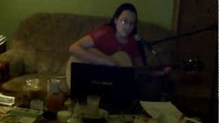 testing my new guitar epiphone pr 5e song is by coldplay what if stonerose cover