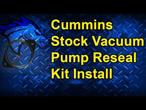How to Reseal a Stock Vacuum Pump: 94-02 Dodge Cummins 5.9L